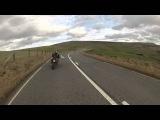 (ORIGINAL) GO-PRO [HD] - Kawsaki ZX6R Crash 40ft Off A Cliff