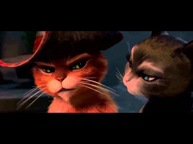 Кот в сапогах и Киса мягколапка Любовь нас завоевала
