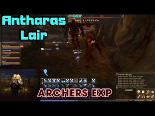 Lineage 2 Classic (RU official - Gran Kain) - Archers exp, Antharas Lair - Karik 70 lvl mobs