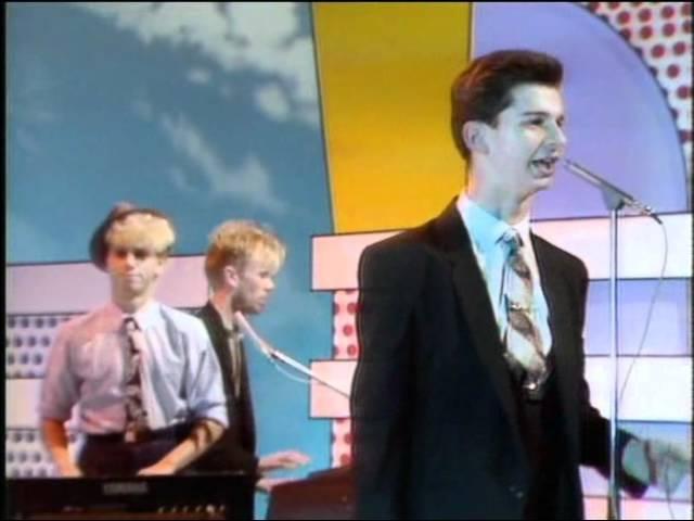 Depeche Mode - Just Can't Get Enough (BBC's Multi-Coloured Swap Shop 07-11-1981)
