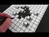 How to Draw a Hole: 3D Illusion