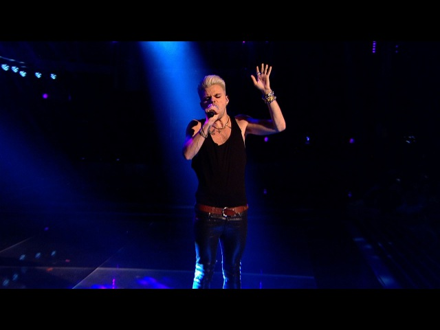 Vince Kidd performs Back To Black - The Voice UK - Live Semi Final - BBC One