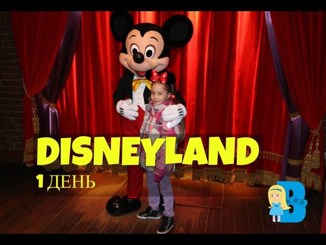 Диснейленд парк развлечений в Париже парад март 2016. Disneyland park parade in Paris