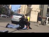 Киевская полиция против таксиста