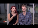 Nick Carter and Sharna Burgess on Hollywood Today Live