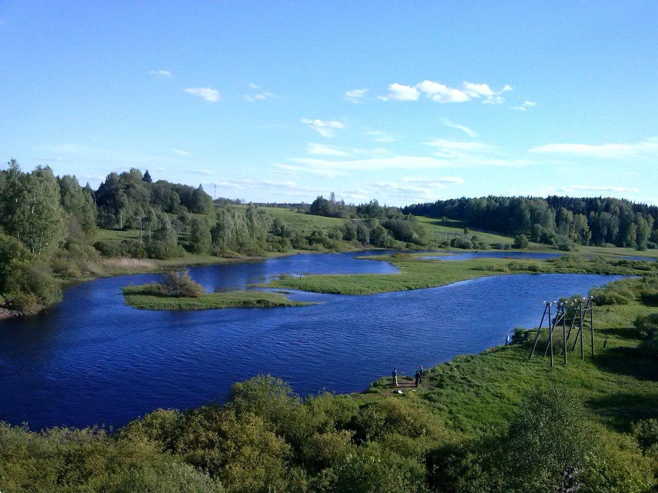 Разлив реки Оредеж, Лужский район. Одно из красивейших мест нашей области.