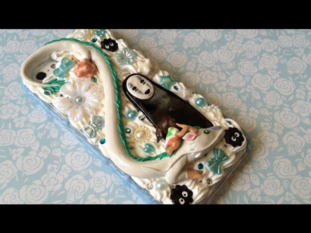 Spirited Away Decoden Phone Case