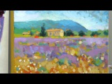 How to paint like Monet Part 4 - Step-by-step Impressionist landscape painting