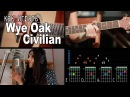 Как играть Wye Oak Civilian OST Walking Dead Разбор COrus Guitar Guide 9