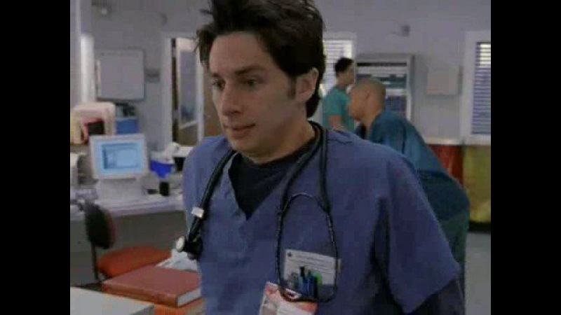 Scrubs J.D. and Laverne Get Roped In