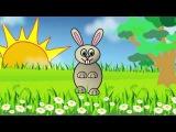 Заинька, попляши. Русская народная мульт-потешка  Russian funny song about bunny. Наше всё!