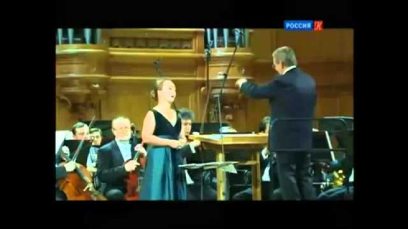 Julia Lezhneva sings Deh vieni Non Tardar Le Nozze di Figaro Susanna
