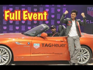 UNCUT | Shah Rukh Khan Launches Don't Crack Under Pressure Initiative By Tag Heuer