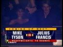 Live Вечер бокса Майк Тайсон Джулиус Френсис Вл Гендлин ст Mike Tyson Julius Francis live dtxth jrcf vfqr nfqcjy l ekbec ahtycb
