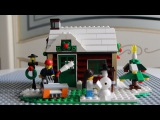 Lego Creator - Changing seasons, Winter cottage, 31038/ Лего Креатор - Времена года, Зимний домик.