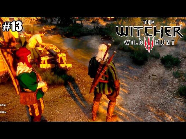 Ведьмак 3 Дикая Охота The Witcher 3 Wild Hunt прохождение 13 серия 1080р