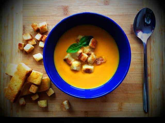 СУП. Очень ВКУСНЫЙ и согревающий ТЫКВЕННЫЙ крем-суп!