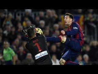 Top 10 Horror Fouls * Lionel Messi * 2015