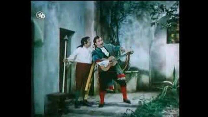 Tito Gobbi interpreta Figaro e canta Largo al Factotum
