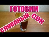 Готовим сливовый сок c помощью кухонного комбайна(соковыжималки) PHILIPS HR7775/00