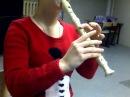 Asterix et Obelix Contre Cesar La Serpe D'or soprano recorder flute