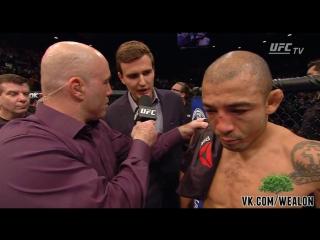 Интервью после боя на UFC 194 - Жозе Альдо [русская озвучка от My Life is MMA]