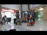 Эквадорские индейцы в Коми Парме..))