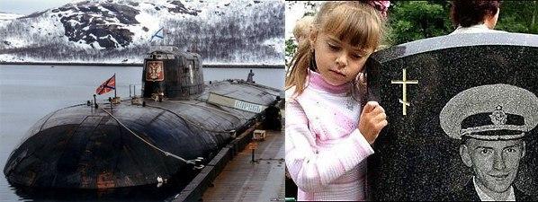 список погибшего экипажа подводной лодки курск