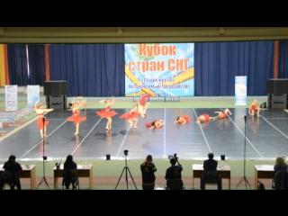 Танцевальное пространство SKAZKA, Кубок стран СНГ 2015 г. Губкин