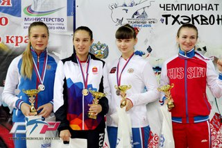 Сборная Санкт-Петербурга успешно выступила на чемпионате России по тхэквондо