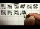 Fun Pointed Pen Calligraphy Drill Exercises