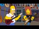 Homer Simpson play bass