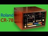 ROLAND CR-78 Analog Drum Machine 1978  HD DEMO