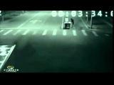 Шокирующее видео Мистика и ужас Призраки на ночной дороге