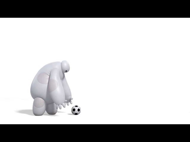 Baymax vs. Soccer Ball