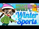 All About Winter Sports Skiing Ice Skating Sledding More Wiki for Kids at Cool School