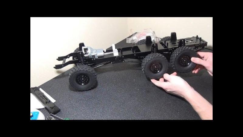 ЗВЕРЬ 6х6 ... Часть 2 (RC4WD Beast II 6x6)