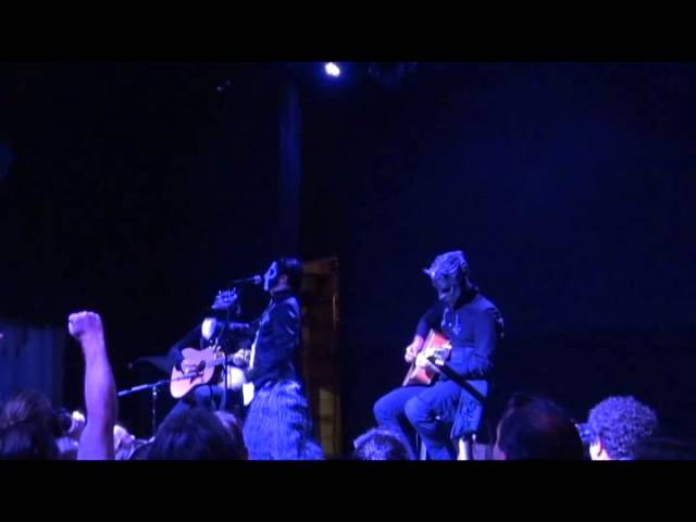 Ghost Acoustic set Unplugged @ Rough Trade BROOKLYN NY 8-23-15