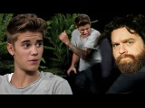 Джастин Бибер и Зак Галифианакис \ Justin Bieber and Zach Galifianakis