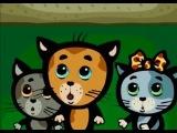 Три котенка - Кто рисует на стене нашего подъезда (песенка из мультика)