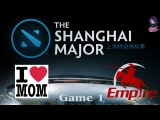 Mamas Boys vs Team Empire #1 (bo2) (Ru) The Shanghai Major Europe (07.01.2016)