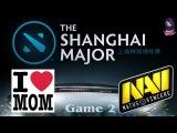 Mamas Boys vs Na'Vi #2 (bo2) (Ru) The Shanghai Major Europe (07.01.2016)
