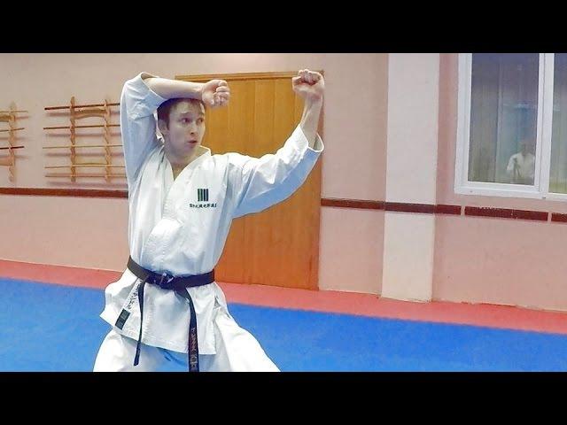 Shotokan Kata Heian Nidan (KWF Standart) by Alex Chichvarin