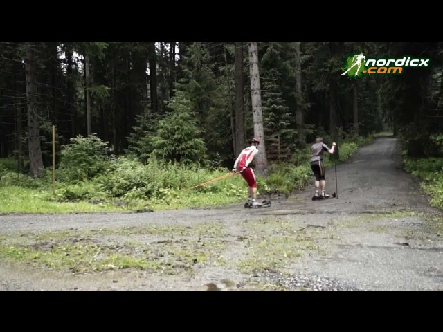 Cross Rollski Offroad Skirollern cross roller skiing