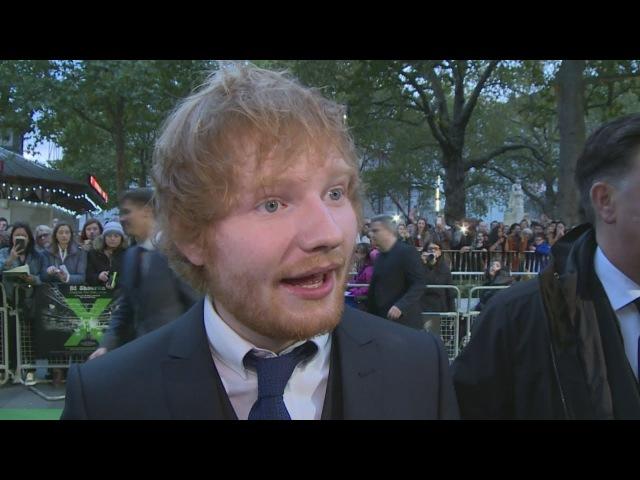 Justin Bieber rocks up at Ed Sheerans Jumpers For Goalposts premiere