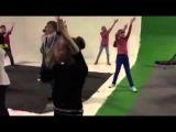 Первая репетиция танца для телеканала Карусель