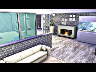 ✩Подвал с окнами в бассейн Sims 4✩ Без кодов и модов✩ Sims 4/Симс 4 ✩