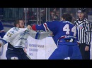 Бои КХЛ Артюхин против Рыспаева KHL Fights Artyukhin VS Ryspayev