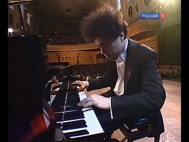 Evgeny Kissin plays 8 Chopin Etudes op. 10 op. 25 - video 2009