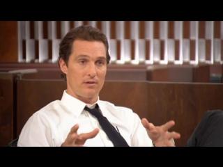 Линкольн для адвоката/The Lincoln Lawyer (2011) Интервью с Мэттью МакКонахи